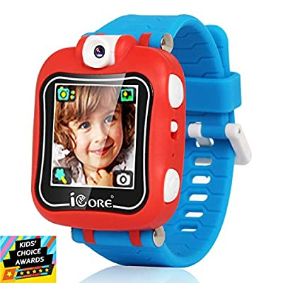 Kids Smart Watch, Rotated Camera Smart Watch for Kids, Built-in Games Watches, Best Christmas Birthday Gifts for Boys Girls Ages 4-12 from iCore
