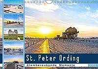 St. Peter Ording - Atemberaubende Momente (Wandkalender 2022 DIN A4 quer): Fastzinierende Weiten an den Straenden von SPO (Monatskalender, 14 Seiten )
