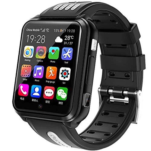 Reloj de pulsera impermeable IP67 para niños y niñas de 3 a 12 años (negro)