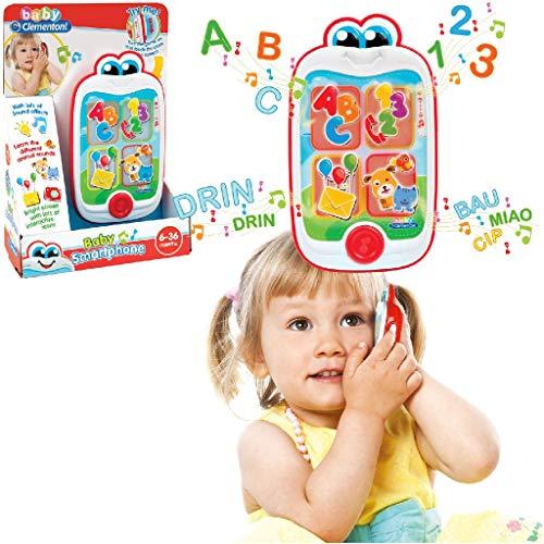 Clementoni 37,967,9 cm Baby Smartphone Jouet