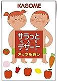 カゴメ サラっとデザート アップル味 100ml 1セット(72本)