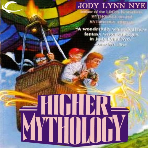 Higher Mythology audiobook cover art