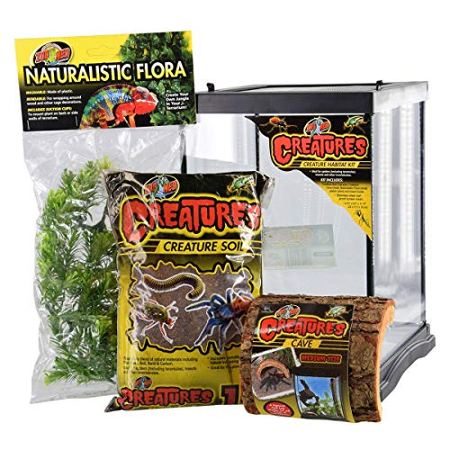 Zoo Med Creatures Creature Habitat Kit, 8.5 by 11', for Pet Spiders Insects & Other Invertebrates
