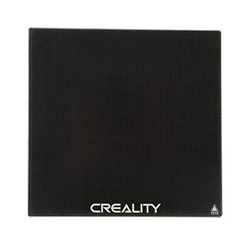 Ender 3 Glass Plate Lastra termica 235 x 235mm Creality 3D Base per stampante Costruisci la piattaforma di cristallo di superficie Eewolf