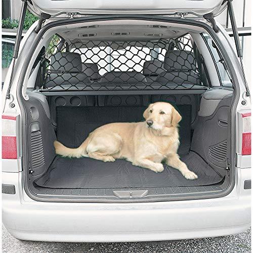 Zantec Barriera di sicurezza del recinto della rete di separazione animale domestico portabagagli sedili posteriori 120cm*70cm