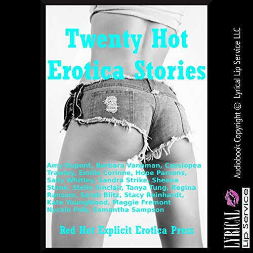 Twenty Hot Erotica Stories audiobook cover art