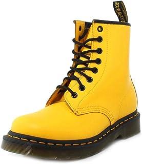 acheter pas cher magasin d'usine vif et grand en style Amazon.fr : Dr martens - Jaune / Chaussures femme ...