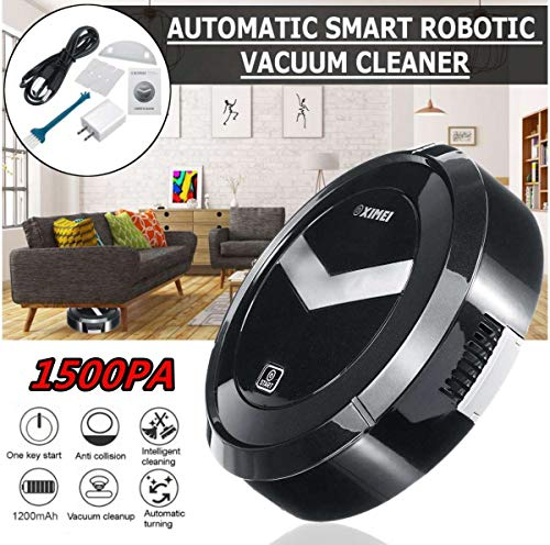 Prakal Mini Smart Sweeping Robot Household Vacuum Cleaner 2 in 1 Chargable(Multi)