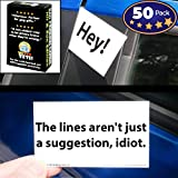 Witty Yeti Bad Parking Cards 50 Note Pack. 5 Fun Designs For A Funny Gag Or Prank Set parking games Oct, 2020