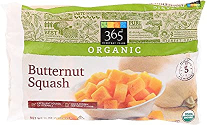 365 Everyday Value, Organic Butternut Squash, 16 oz, (Frozen)