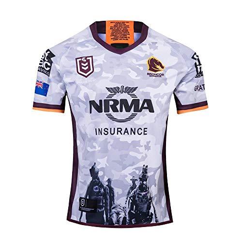 Designs 2019/2020 Herren Rugby T-Shirt Trikot Tops