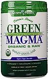 GREEN MAGMA® - 300 gr Polvere - UNICO IN ITALIA - a base di succo di giovani foglie di Erba d'orzo estratte a crudo con tecnologia Spray Dry, certificato 100% biologico e crudo.