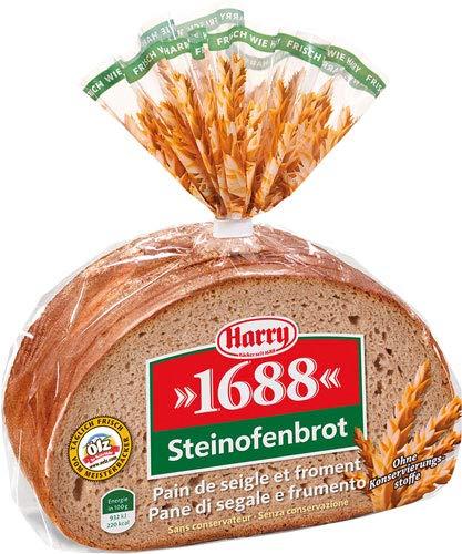 Harry Steinofenbrot geschnitten, 9 Scheiben - 6x 500 g