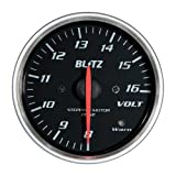 BLITZ(ブリッツ) RACING METER SD(レーシングメーターSD) 丸型アナログメーター φ60 VOLT METER 19567