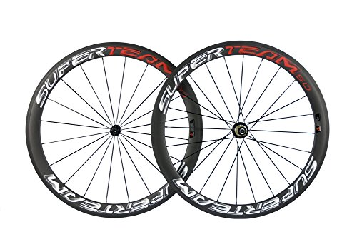 Superteam Carbon Fiber Road Bike Wheelset