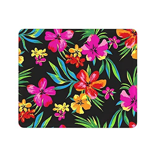 Beautiful Flower Gaming Mouse Pad Cute Mouse Mat with Design Non-Slip Rubber Base