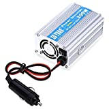 Verilux® 200W DC 12V to AC 220V Vehicle Power Inverter with USB Charging