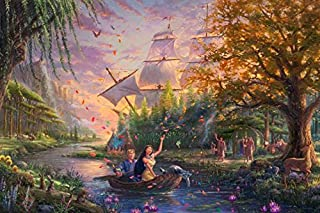 Ceaco 2903-25 Thomas Kinkade The Disney Collection Pocahontas Puzzle - 750Piece