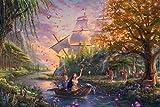Ceaco Thomas Kinkade The Disney Collection Pocahontas Jigsaw Puzzle, 750 Pieces