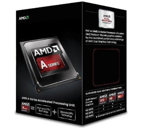 A10-6400K - 4,3 GHz - Socket FM2 (AD640KOKHLBOX)