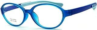 Blue Light Blocking Glasses for Kids and Teens, Anti Eye Strain UV Computer Eyewear Clear Lens