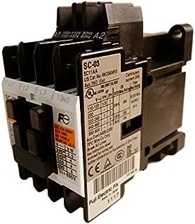 Fuji Electric, 4NC0A0110, Sc-03 Ac110-120V60Hz 1A Contactor