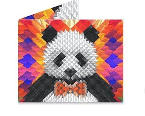 Mighty Wallet | Minimalist Tyvek Wallet | Front Pocket Wallet | Slim Wallet | Geo Panda