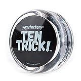 YoyoFactory Ten Trick Yo-Yo - Transparente (Genial para Principiantes, Juego...