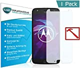Slabo Premium Pellicola Protettiva in Vetro Temperato per Motorola Moto X4 Tempered Glass Crystal Clear Graffi Fino a 9H