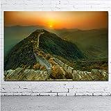 ABCDfang Creative Dekorative gemälde Chinesische Mauer