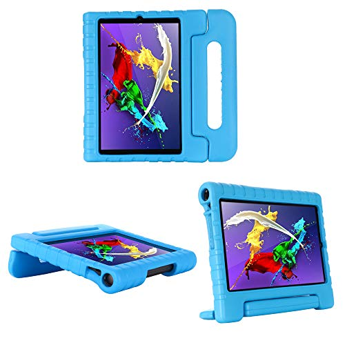cradle HR Compatible Kids Protective New Hand stand Case for Lenovo Yoga Smart Tab 10.1 (YT-X705F) Inch Tablet,EVA Light Weight Protective Case Shock Proof stand Cover (blue)