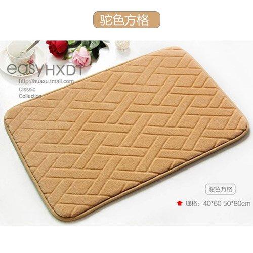BLZZR zuigmat voor de keuken, antislip, voeten voor deur, mat, 50 x 80 cm, doos en