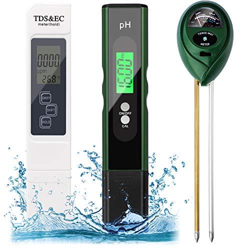 Digital PH Meter, TDS Meter Soil PH…