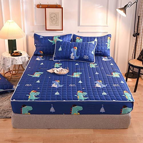 HAIBA Sábanas de franela de franela de algodón cepillado suave, extra profundas, para cama individual, doble, tamaño Super King, 48 x 74 cm (2 unidades)