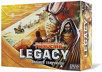 Z-man Games España- Pandemic Legacy Segunda Temporada, Español, Multicolor (ZM7173YES)
