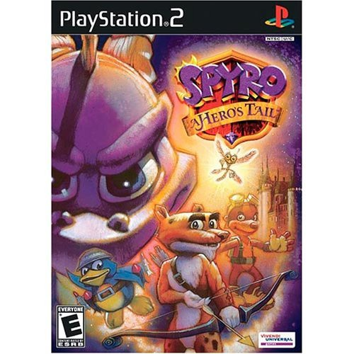 Spyro A Hero's Tail - PlayStation 2 (Renewed)