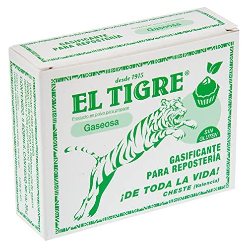 EL TIGRE sodas y gaseosas en polvo caja 8 sobres