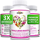 Female Immunity Wellness Enhancement Supplement Pills with Maca Root, Horny Goat Weed, Dong Quai to Boost Vitality, Performance, Stamina, Passion Drive, Energy, Mood - Made in USA