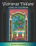 Vidrieras Tiffany Libro de Colorear: Libro de Colorear con Diseños Fantásticos para Adultos