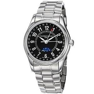 Frederique Constant Men's FC-330B6B6B Index Stainless Steel Bracelet Watch image