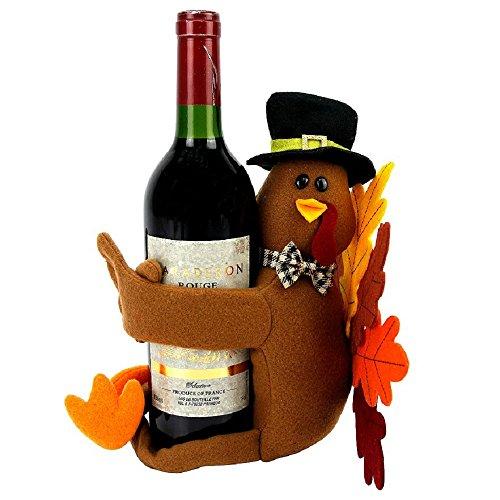 Kohl's Celebrate Fall Together Turkey Hugger Wine Bottle Cover