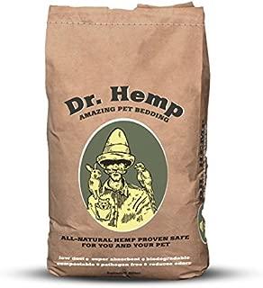 Dr. Hemp - Bolsa de cama para mascotas totalmente natural, 8 cuartos