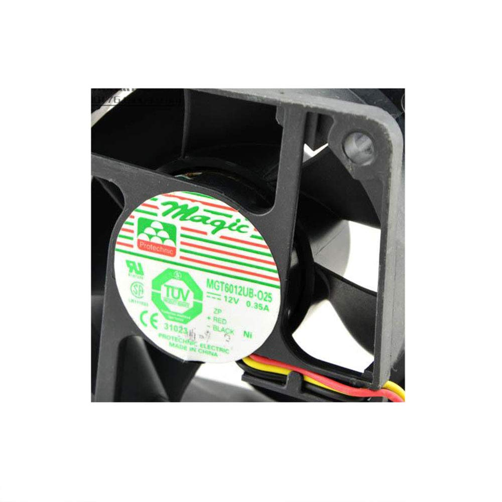 Cytom for Yongli MGT6012UB-025 12V 0.35A 6025 Fan Large Fan Double Ball Cooling Fan