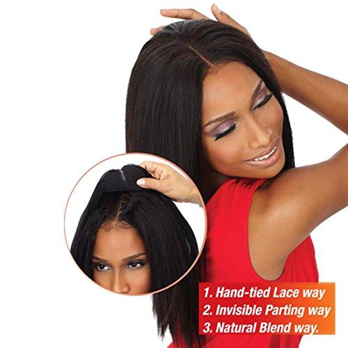 Sensationnel Human Hair Extension GODDESS Remi Closure 14-16 Inch (1B - natural black) by Goddess