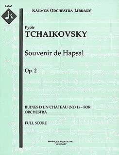 Souvenir de Hapsal, Op.2 (Ruines d'un chateau (No.1) – for orchestra): Full Score [A6160]