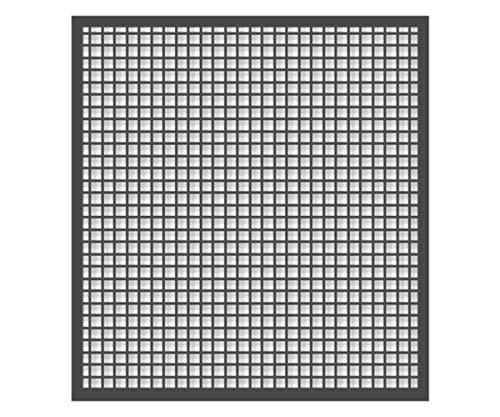 Schellenberg 70987 Insektenschutz-Fenster Basic 100 x 120 cm Fliegengitter für Fenster