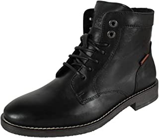 Levi's Homme Bottes en Cuir Whitfield Regular Black