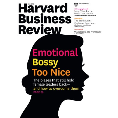 Harvard Business Review, September 2013 cover art