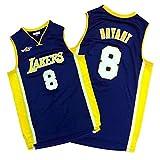# 8 Lakers Kobe Bryant All-Star Series Jersey, Moda Hombre Secado Rápido Transpirable Malla Cómoda Sudadera (S-2XL) Purple B-L