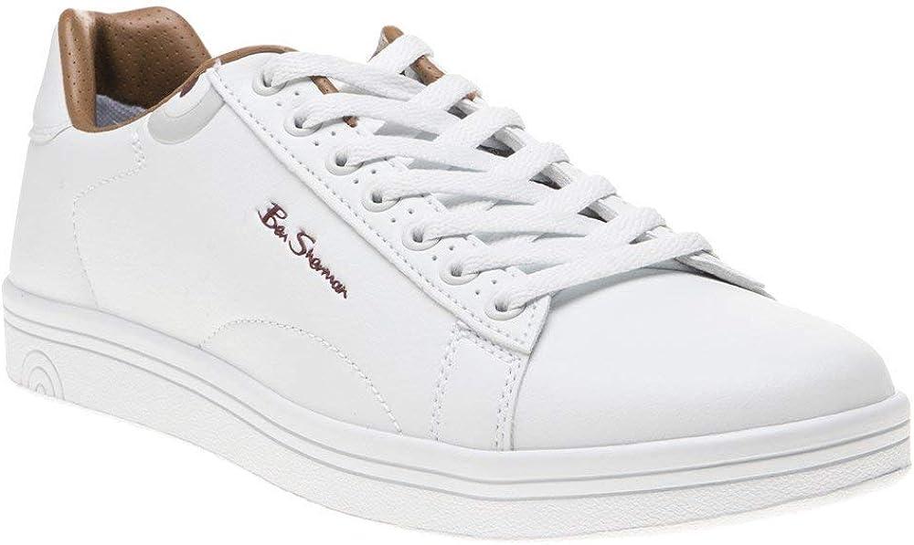 Ben Sherman Storm Mens Sneakers White